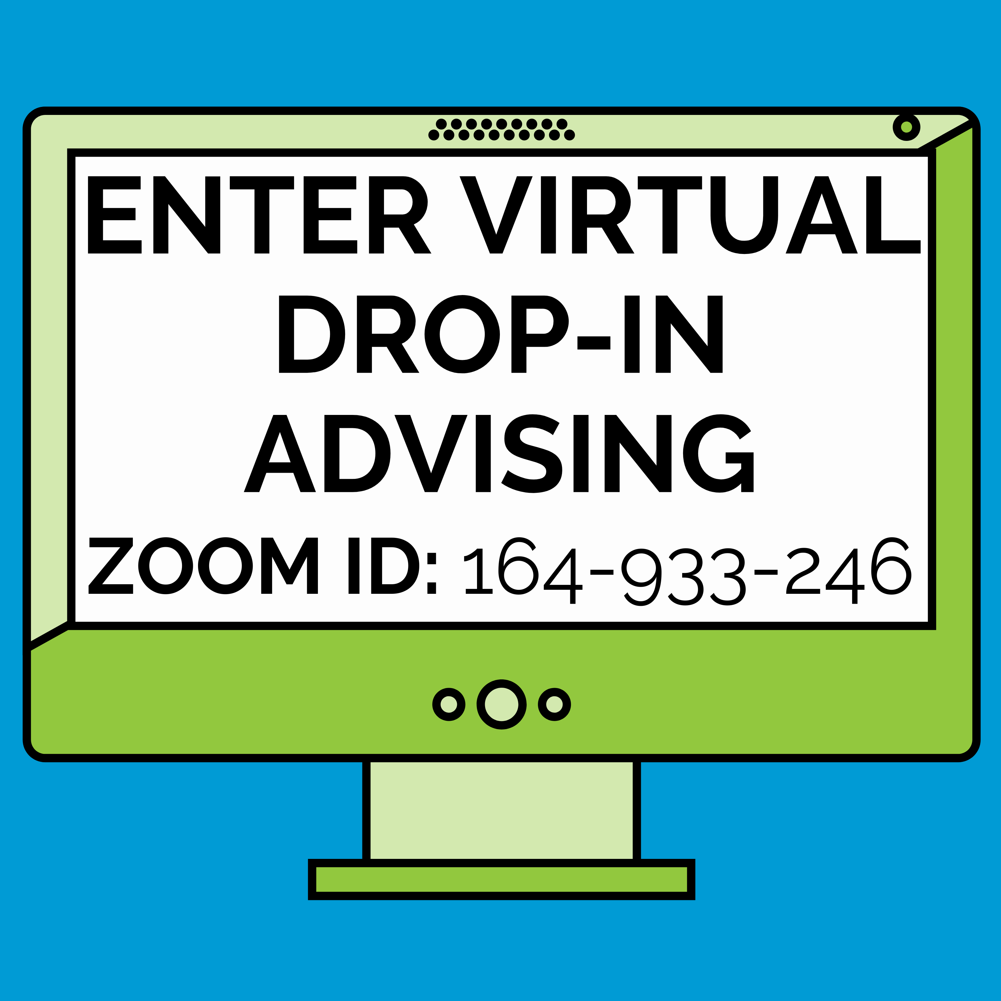 AIP and UCDC Online Drop-in Advising