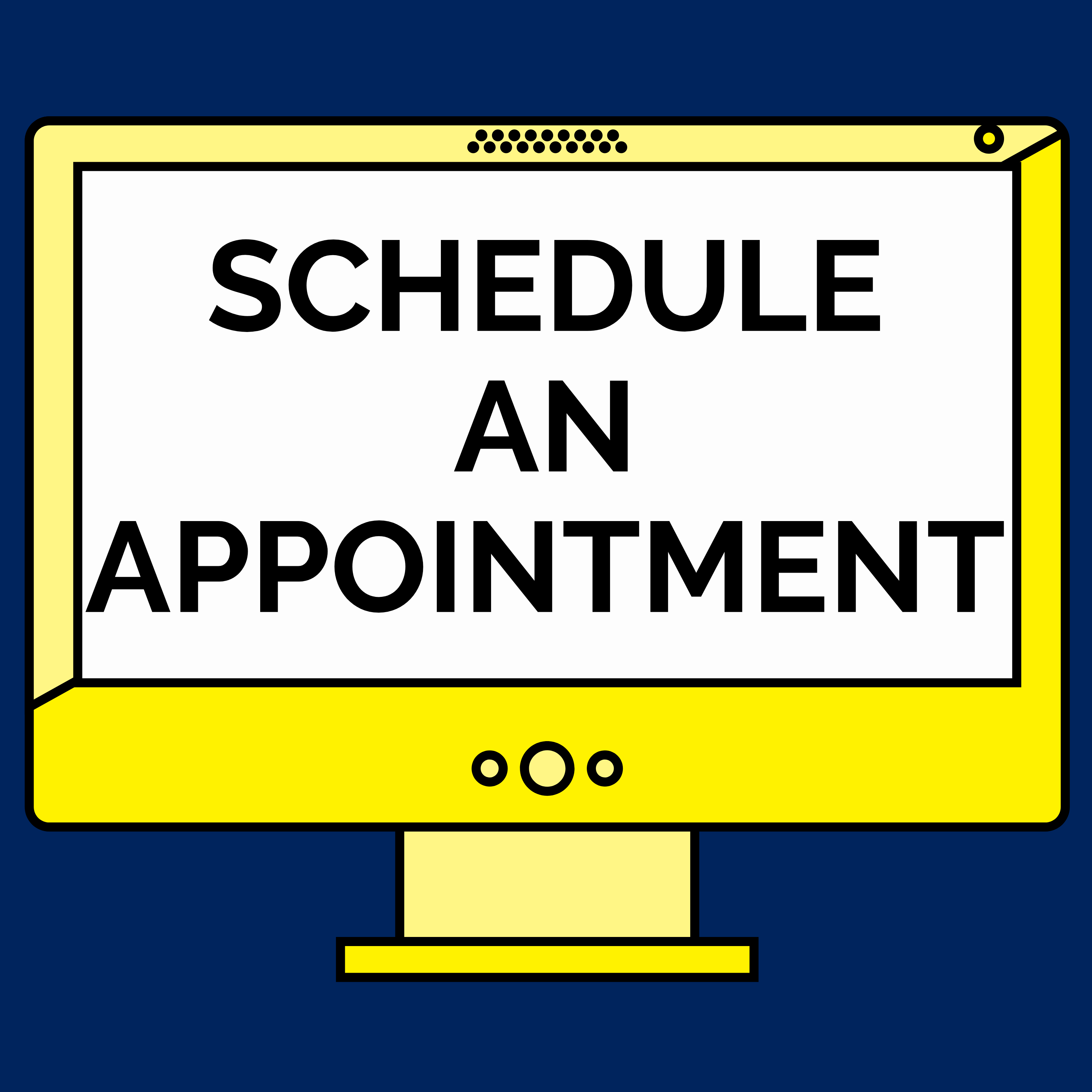 Schedule an appointment via the VAC